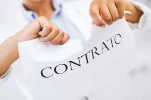 cancelacion contrato